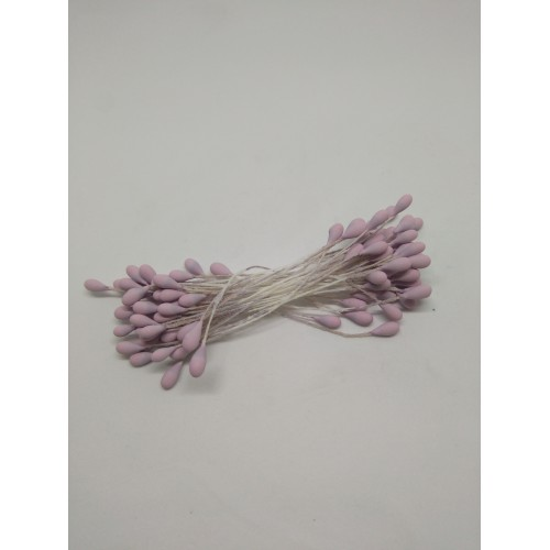 Stamens 3 mm.- 50 Uds color lila