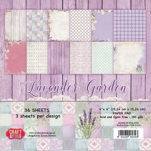"""Colección """"Lavender Garden"""" 12""""x12"""""""