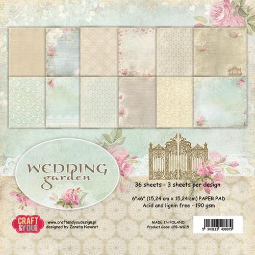 """Colección """"Wedding Garden"""" 12""""x12"""""""
