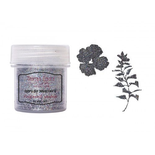 Embossing powder Black night