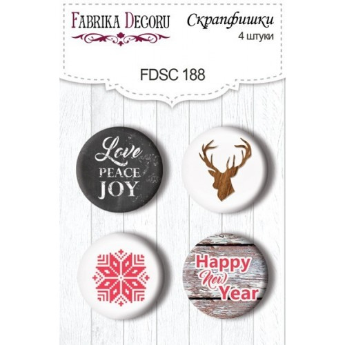 "Set de 4 pcs Christmas Fairytales"" N. 188"""
