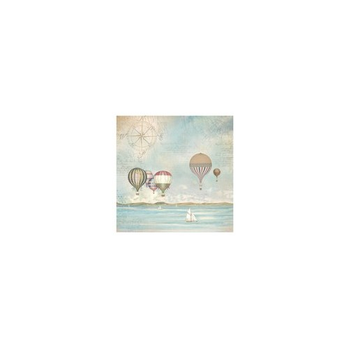 Rice Paper A3 Napkin Sea Land Ballons -Stamperia