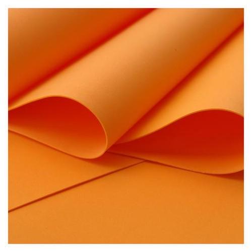 Foamiran plancha de  30x35 - Orange