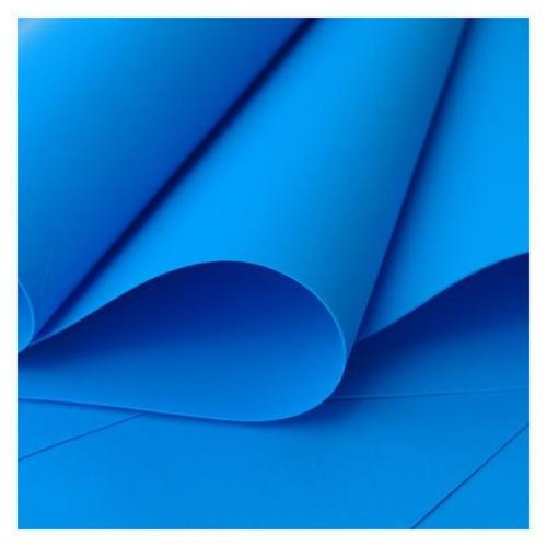 "Foamiran color ""azul intenso"""