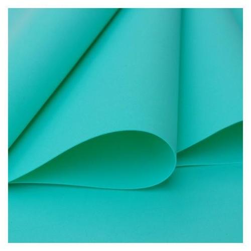 Foamiran plancha de  30x35 - Teal mint