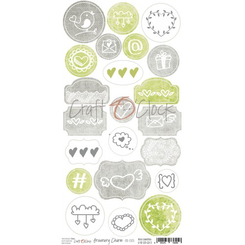 Die cuts - Greenery Charm