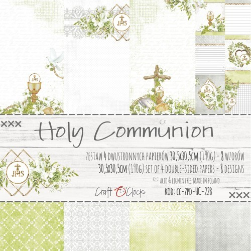 Set de papeles - Holy Communion 30,5 x 30,5