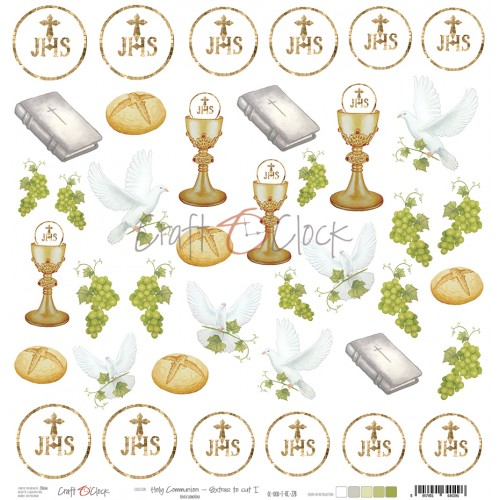 Holy Communion- Set extra para recortar I