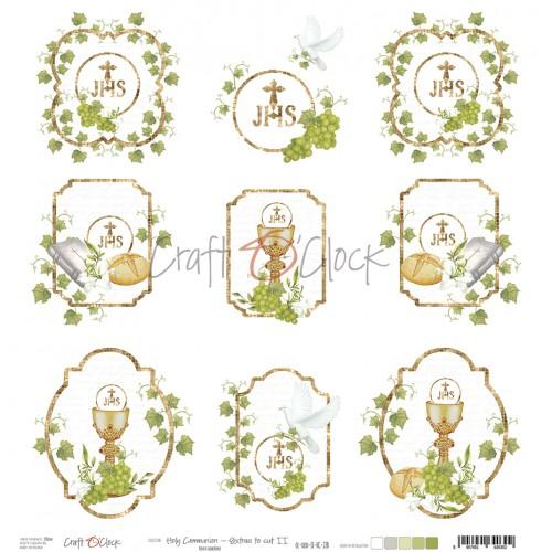 Holy Communion- Set extra para recortar II