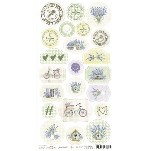 Set die cuts - Lavender Hills