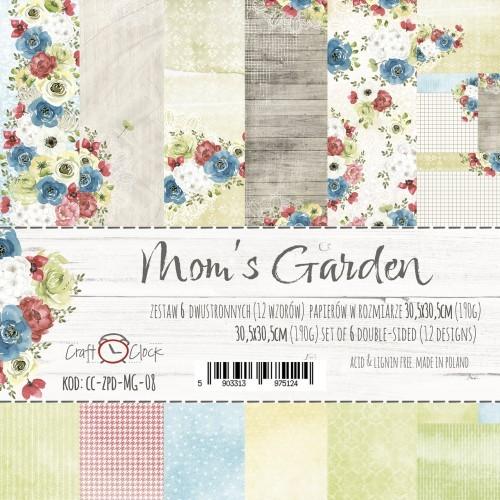 Set de papeles - Mom´s Garden 30,5 x 30,5