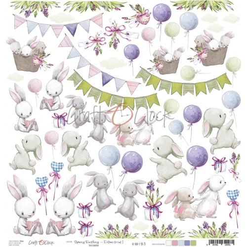 Spring Busling - Extras para recortar