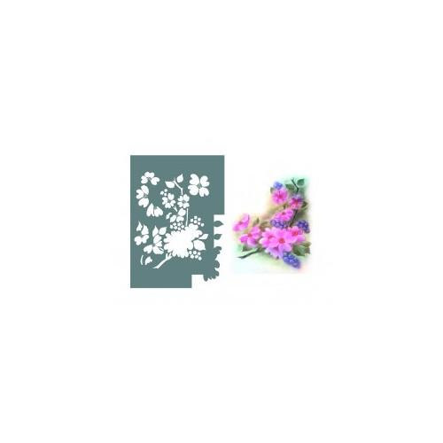 Plantilla 3 en 1 - Flor  de Celindo -