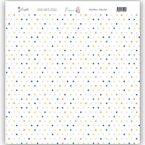 Hule Polka Dots 12x12 Bikini - Cocoloko