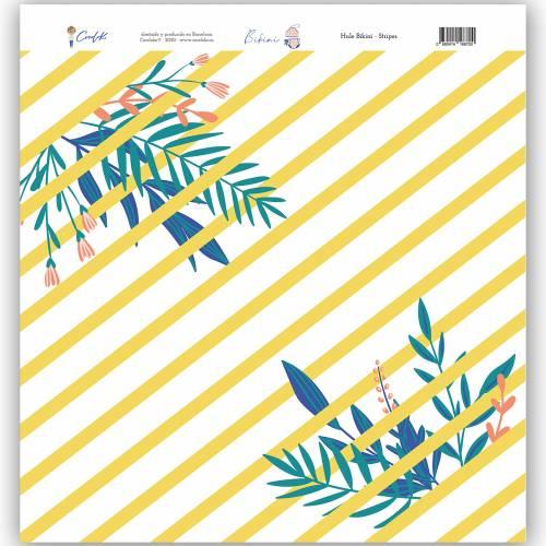 Hule Stripes 12x12 Bikini - Cocoloko