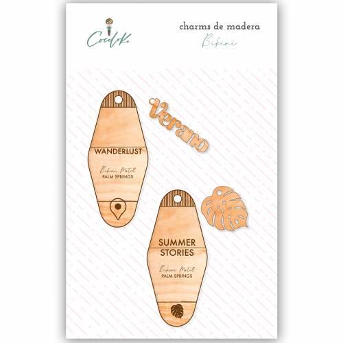 Charms de madera Bikini - Cocoloko