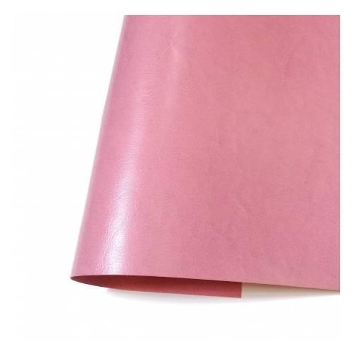 Ecopiel satinada rosa flamenco 35x50 - Kora Projets