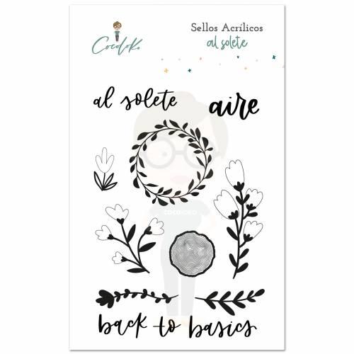 Sello acrílico AL SOLETE 10x15 - Cocoloko