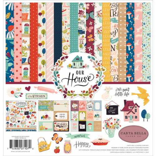 "Kit de papeles Our House 12x12"" - Carta Bella"