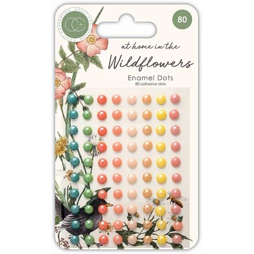 At Home in the Wildflowers Enamels dots - Craft Consortium