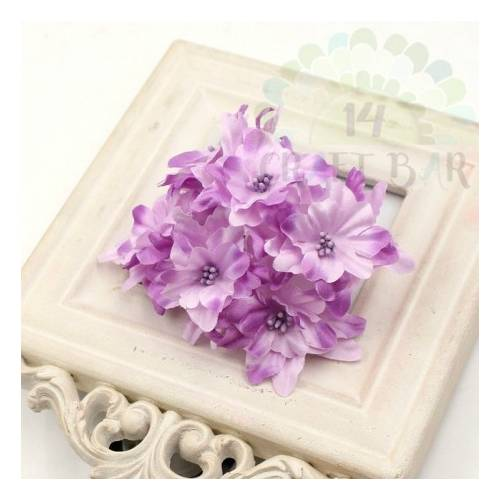 Flores Silk Lily - LILAC 6 pcs