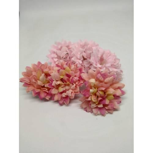 Flores tela rosas