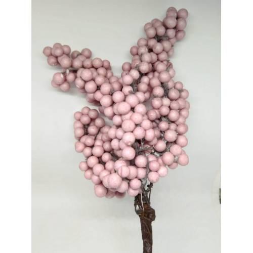 Ramillete de bolas pequeñas, color rosa claro