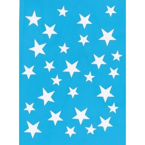 """Stencil """"Estrellas"""""""