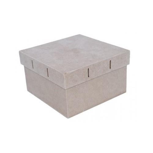 Caja madera con pasacintas
